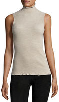 The Row Brianna Stand-Collar Sleeveless Top