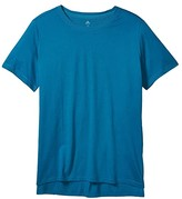 adidas Plus Size Go To Tee (Active Teal) Women's Clothing
