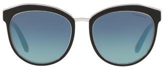 Tiffany & Co. Two-Tone Oversized Sunglasses