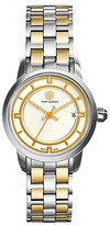 Tory Burch Tory Watch, Two-Tone Stainless Steel/Ivory, 28 Mm