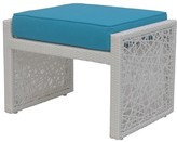 The Well Appointed House Mykonos Outdoor Ottoman