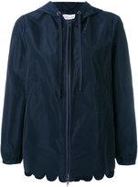 RED Valentino scallop hem jacket - women - Cotton/Polyester - 42