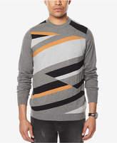 Sean John Men's Intarsia Knit Sweater