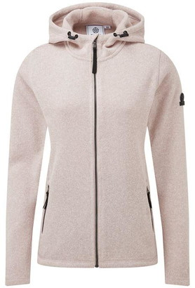 Tog 24 Cropton Womens Knitlook Fleece Jacket