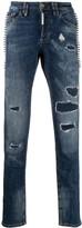 Philipp Plein Destroyed straight-fit jeans