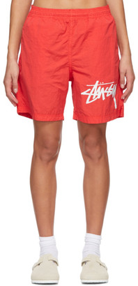 Nike Red Stussy Edition NRG Water Shorts