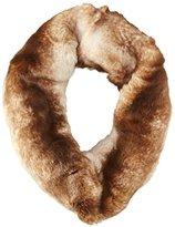 Badgley Mischka Women's Faux Fur Loop Scarf