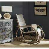 Bay Isle Home Reis Rocking Chair Bay Isle Home Color: Antique Gray