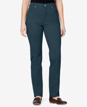 Gloria Vanderbilt Petite Amanda Straight-Leg Jeans