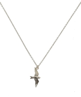 Alex Monroe Silver Flying Swallow Necklace