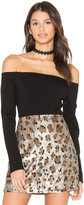 Fifteen-Twenty Fifteen Twenty Exposed Shoulder Top