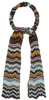 M Missoni Metallic Knit Scarf