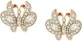 Susan Caplan Vintage 1980s Attwood & Sawyer butterfly earrings