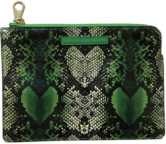 Marc by Marc Jacobs Green Plastic Clutch bags