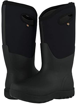 Bogs Neo Classic Tall Wide (Black) Women's Shoes