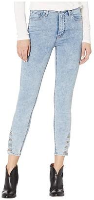 Levi's Womens Mile High Ankle Button Hem (Button Out) Women's Jeans