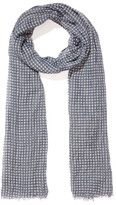 Portmans Faded Gingham Scarf
