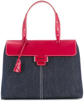 Myriam Schaefer two-tone Lord tote bag