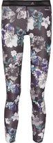 adidas by Stella McCartney Floral-Print Stretch-Jersey Leggings