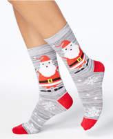 Charter Club Women's Santa Snowflakes Socks, Created for Macy's