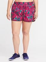 "Old Navy Semi-Fitted Plus-Size Run Shorts (3 1/2"")"