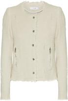 IRO Frayed Cotton-tweed Jacket - FR34