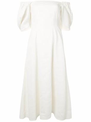 Anna Quan off-the-shoulder Aura dress