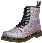Dr. Martens Unisex Kids' Delaney Gltr Pink Multi Glitter Pu Boots,10 UK 28 EU