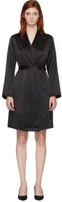 La Perla Black Silk Robe