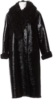 Loewe Black Fur Coat for Women