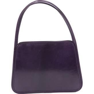 Lulu Guinness Purple Leather Handbags