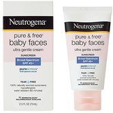 Neutrogena Pure and Free Baby Faces - SPF 45 - 2.5 oz
