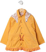 Catimini Girls' Trench Coat