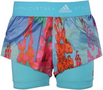 adidas Run Two-in-one Printed Shorts