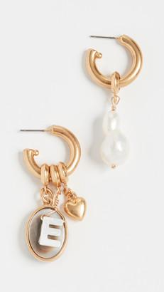 Brinker & Eliza Persona Hoop Earrings