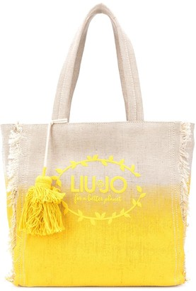 Liu Jo Gradient Logo Beach Bag