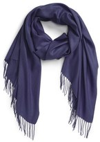 Nordstrom Women's Tissue Weight Wool & Cashmere Scarf