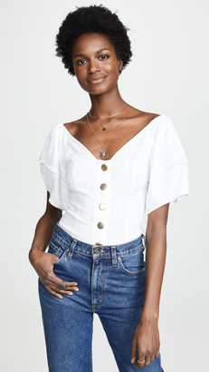 Free People Not Basic Thong Bodysuit