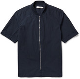Nonnative - Rancher Slim-fit Washed Cotton And Linen-blend Shirt
