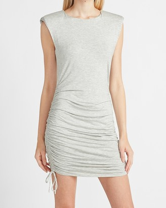 Express Ruched Side Sheath Dress