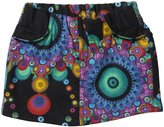Desigual Knitted Short Skirt (Toddler/Kid) - Negro-3/4 Years