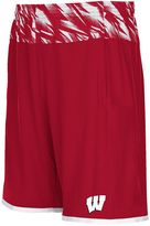 adidas Men's Wisconsin Badgers Player Shorts