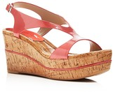 Donald J Pliner Delon Cork Platform Wedge Sandals