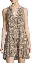 The Fifth Label Passenger Leopard-Print Dress