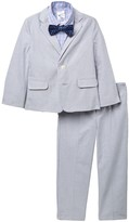 Nautica Grey Oxford Suit Set (Toddler Boys)