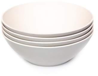 Pottery Barn Bamboo Pasta Bowls, Set of 4