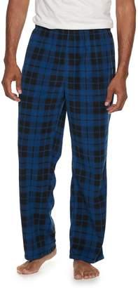Croft & Barrow Men's Knit Micro Fleece Pant