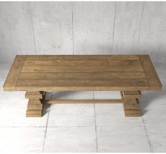 Gracie Oaks Mccubbin Solid Wood Dining Table