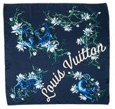 Louis Vuitton Silk Panther Pocket Square