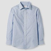 Cat & Jack Boys' Button Down Shirt Cat & Jack - Blue Stripe